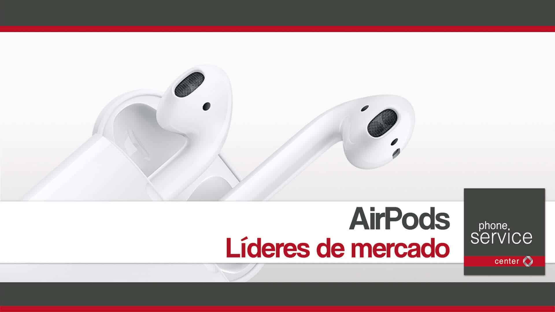 AirPods de Apple lideres de mercado