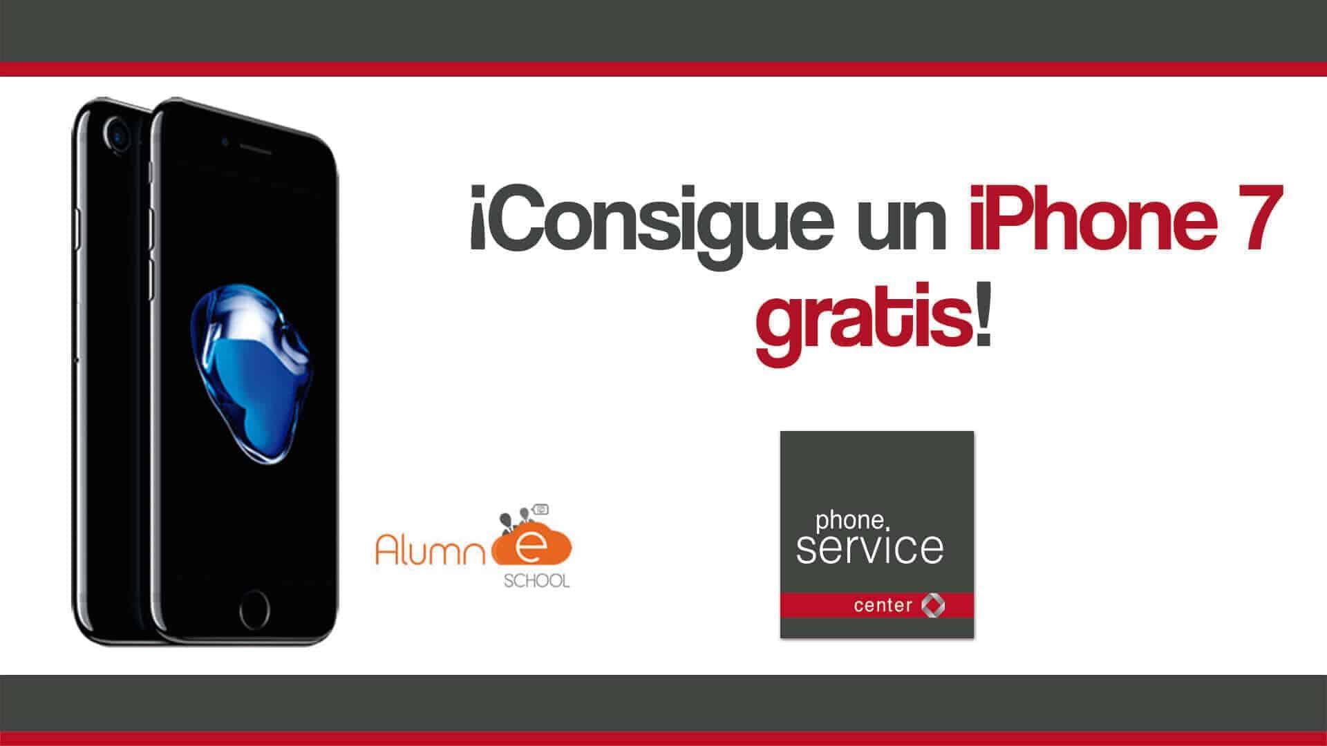 Consigue un iPhone 7 gratis