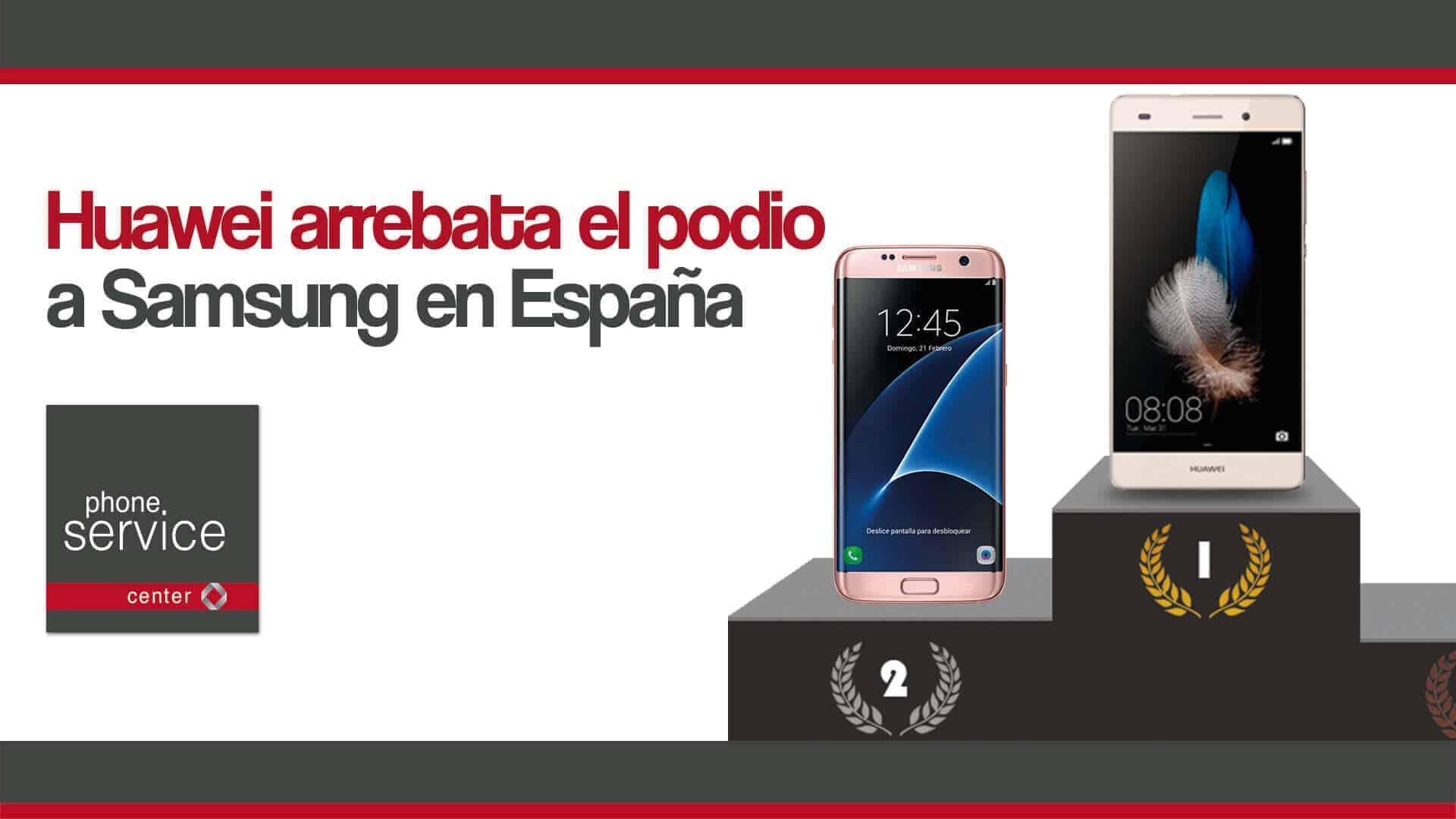Huawei arrebata el podio a Samsung