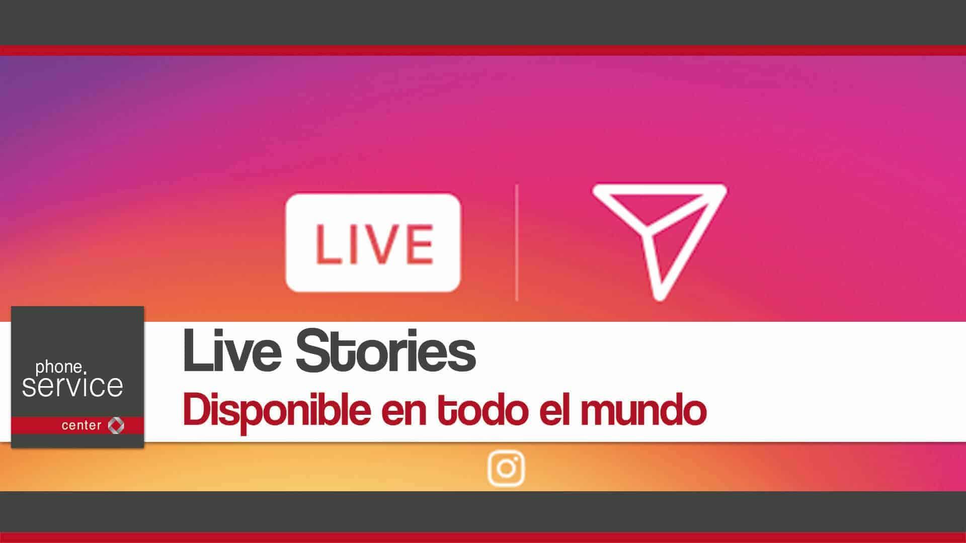 Live Stories disponible en todo el mundo