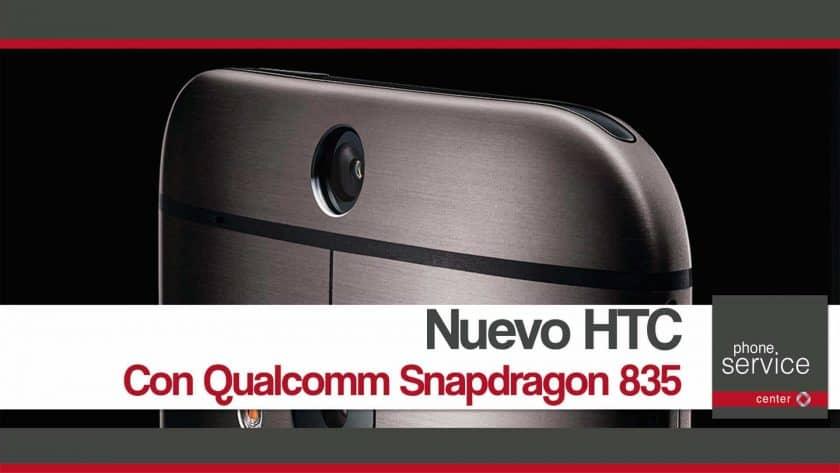 Nuevo buque insignia de HTC con Snapdragon 835