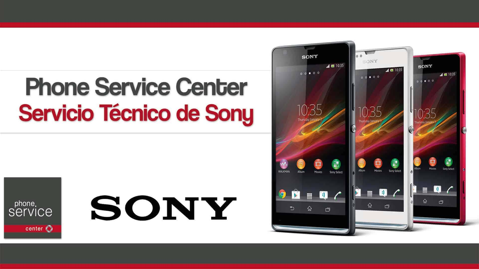 Phone Service Center Servicio Tecnico de Sony