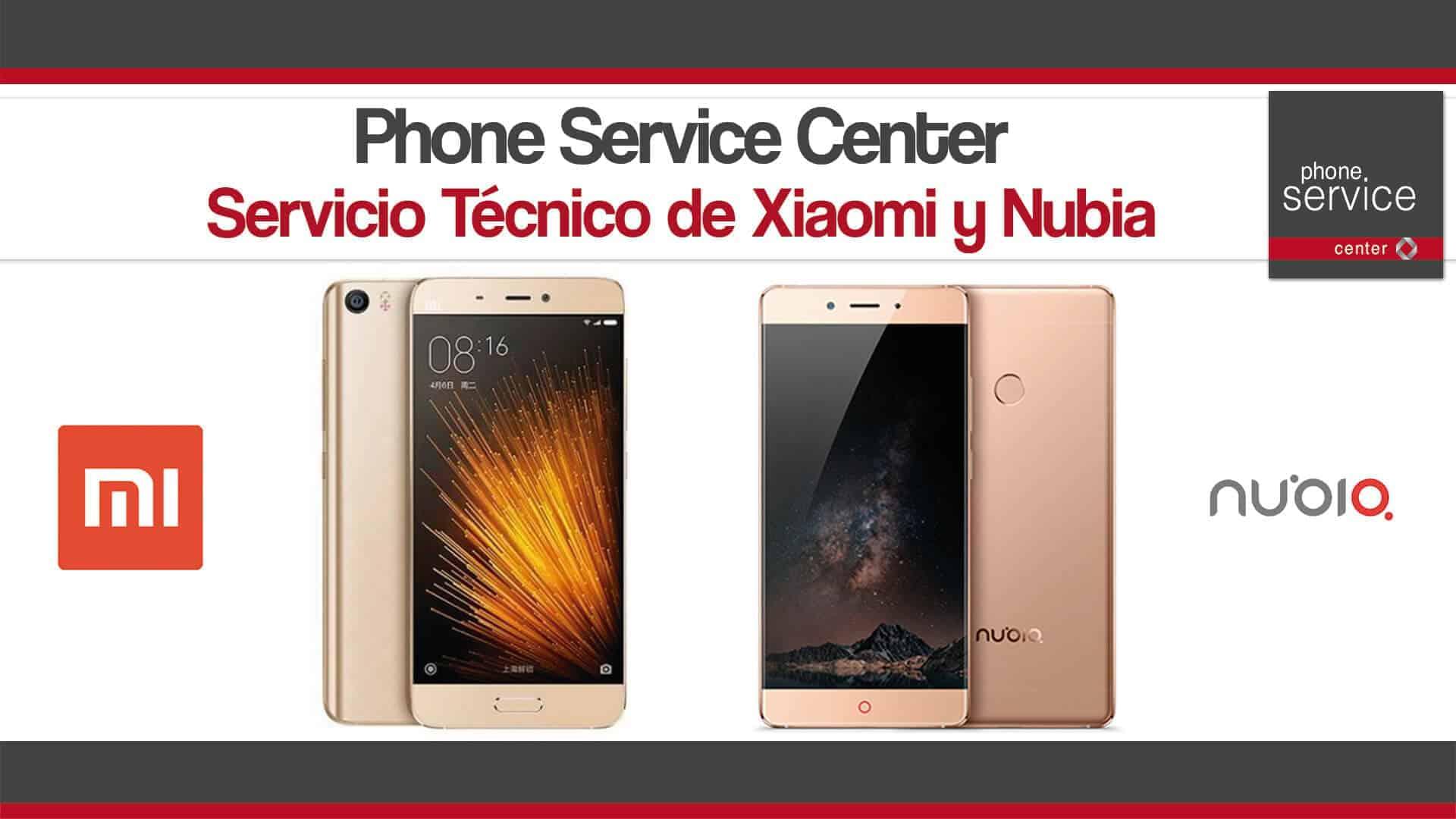 Servicio Tecnico de Xiaomi y Nubia
