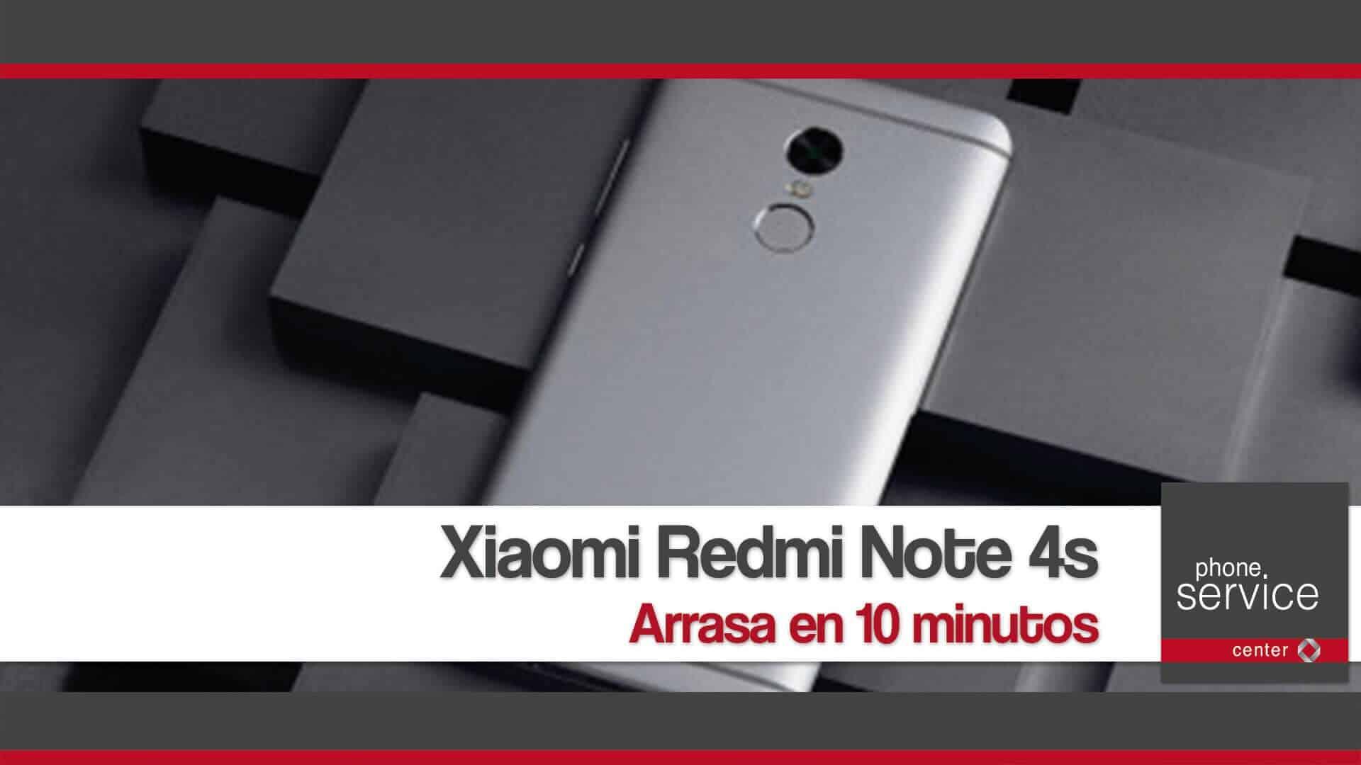 Xiaomi Redmi Note 4s arrasa en 10 minutos