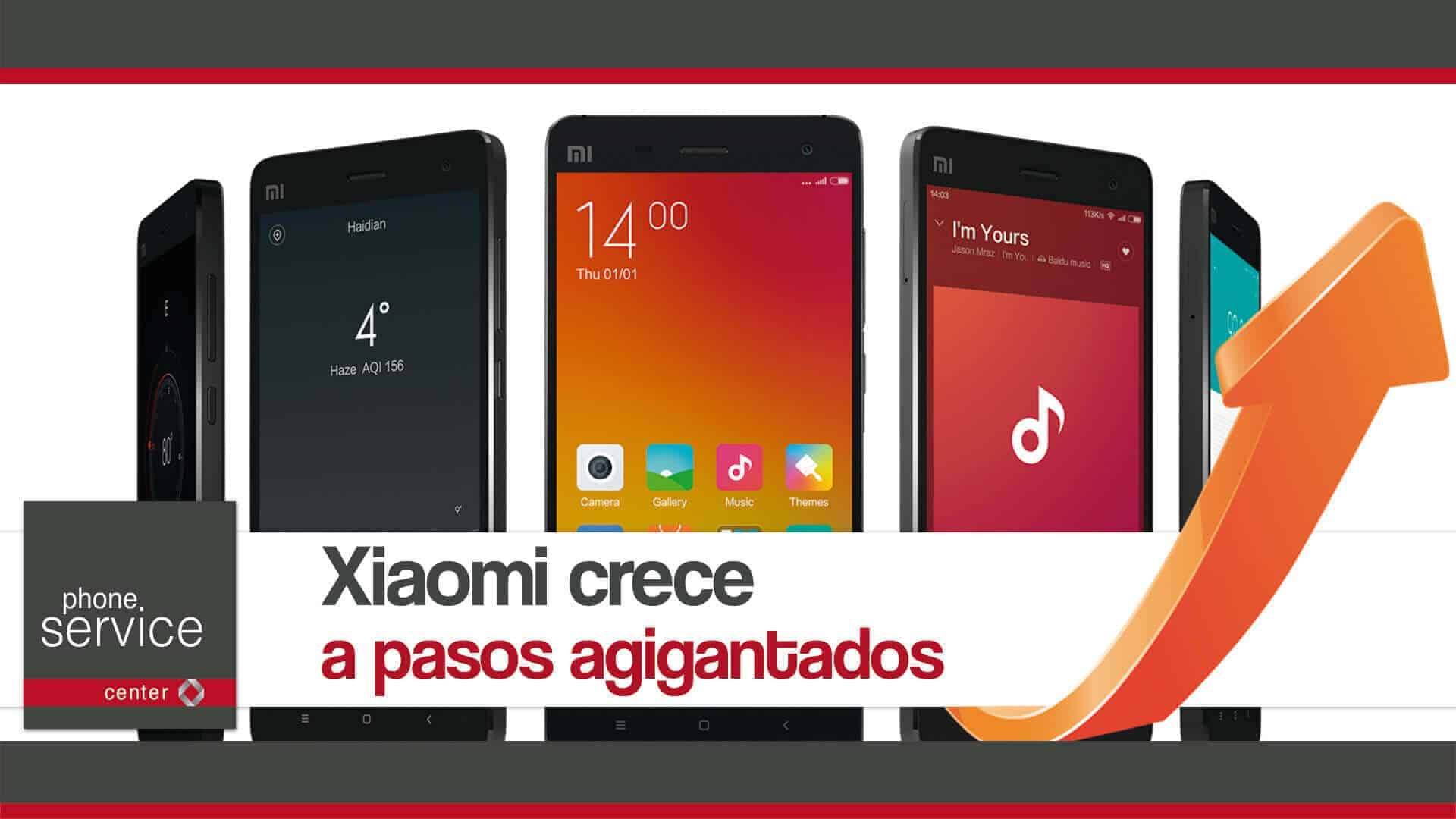 Xiaomi crece a pasos agigantados