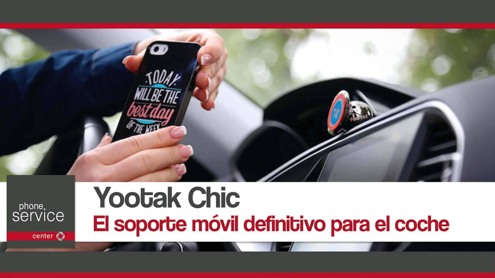Yootak Chic el soporte movil definitivo para el coche