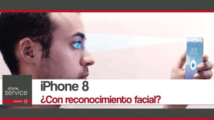 iPhone 8 con reconocimiento facial