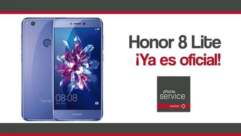 Honor 8 Lite ya es oficial