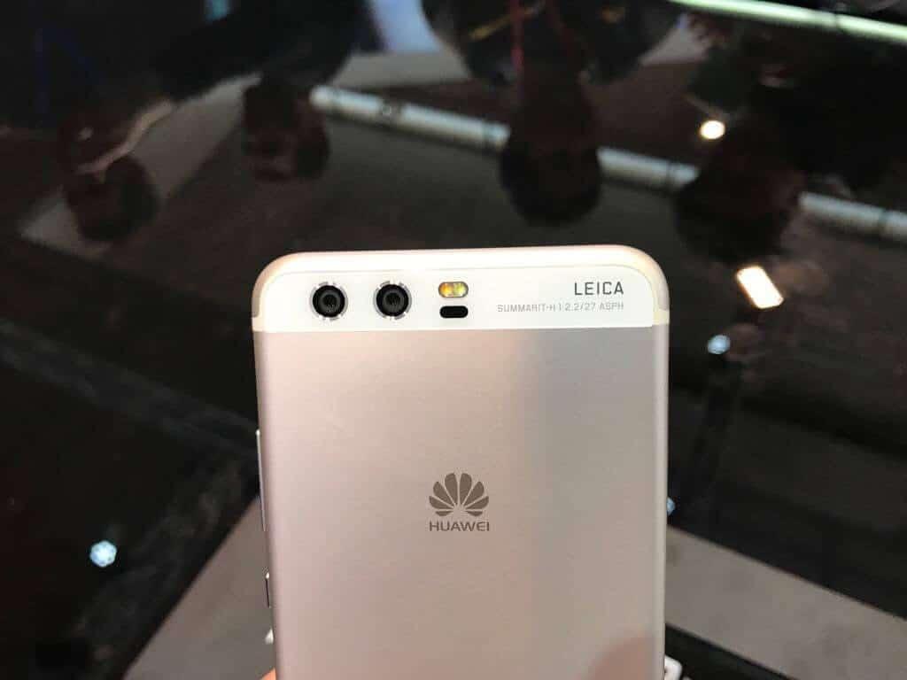 Huawei P10 camara