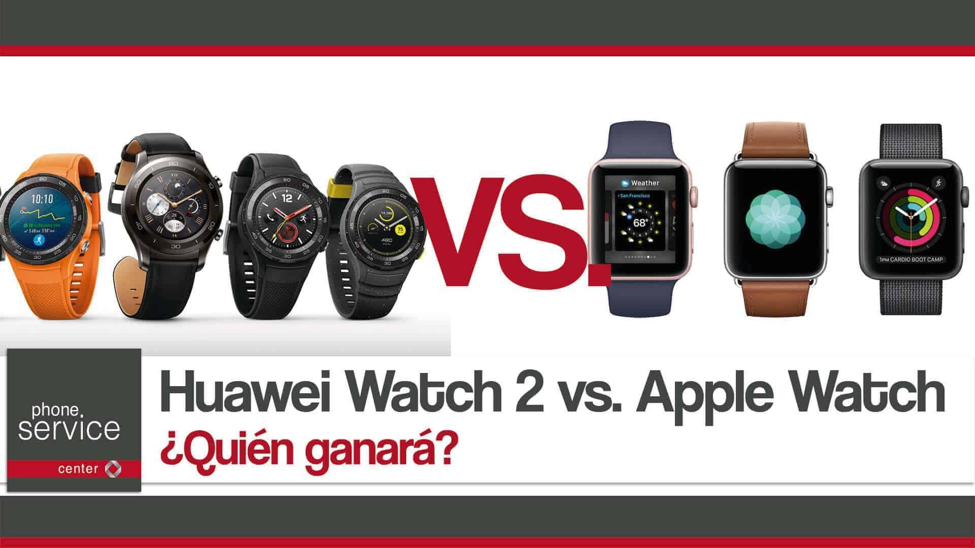 Huawei Watch 2 vs. Apple Watch