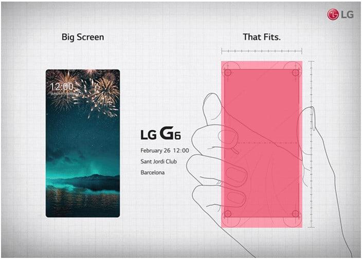 Imagen presentacion LG G6
