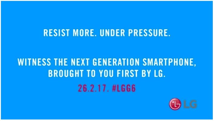 Teaser LG G6