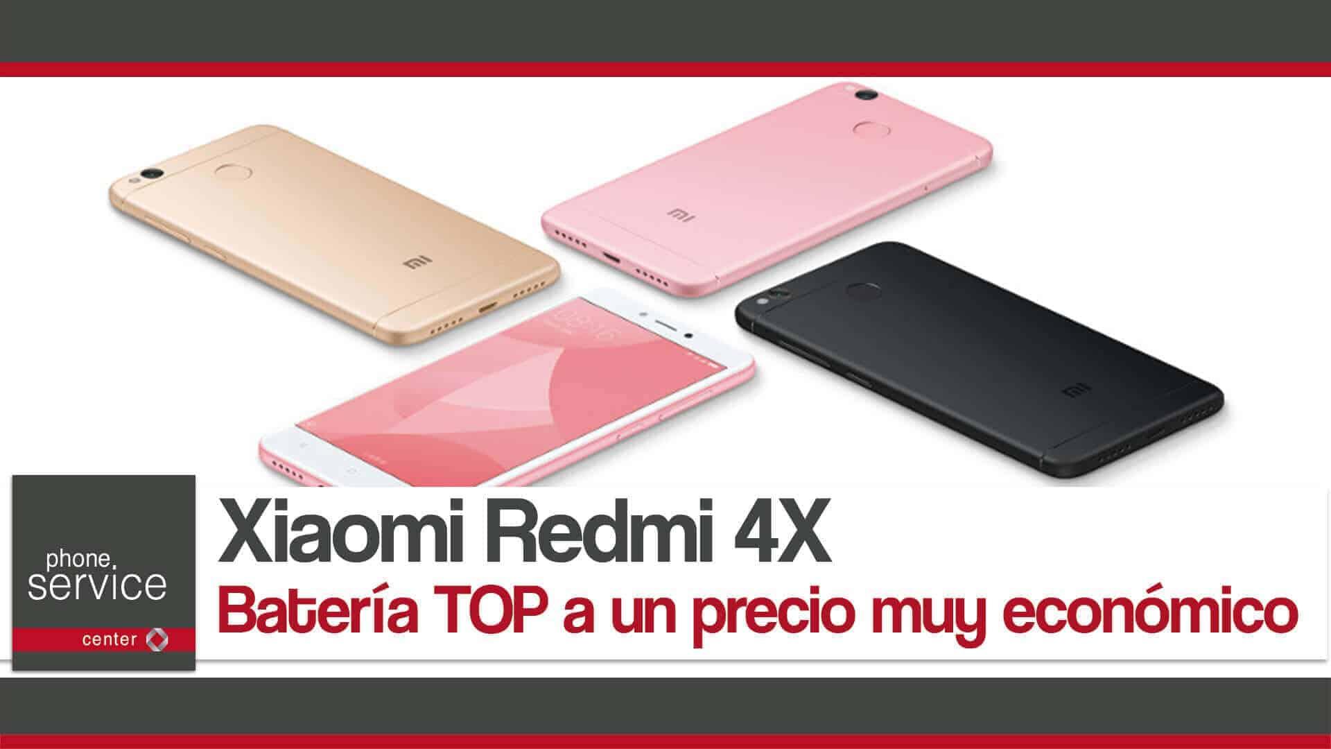 Xiaomi Redmi 4X con una bateria descomunal