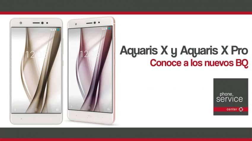 Aquaris X y Aquaris X Pro conoce a los nuevos BQ