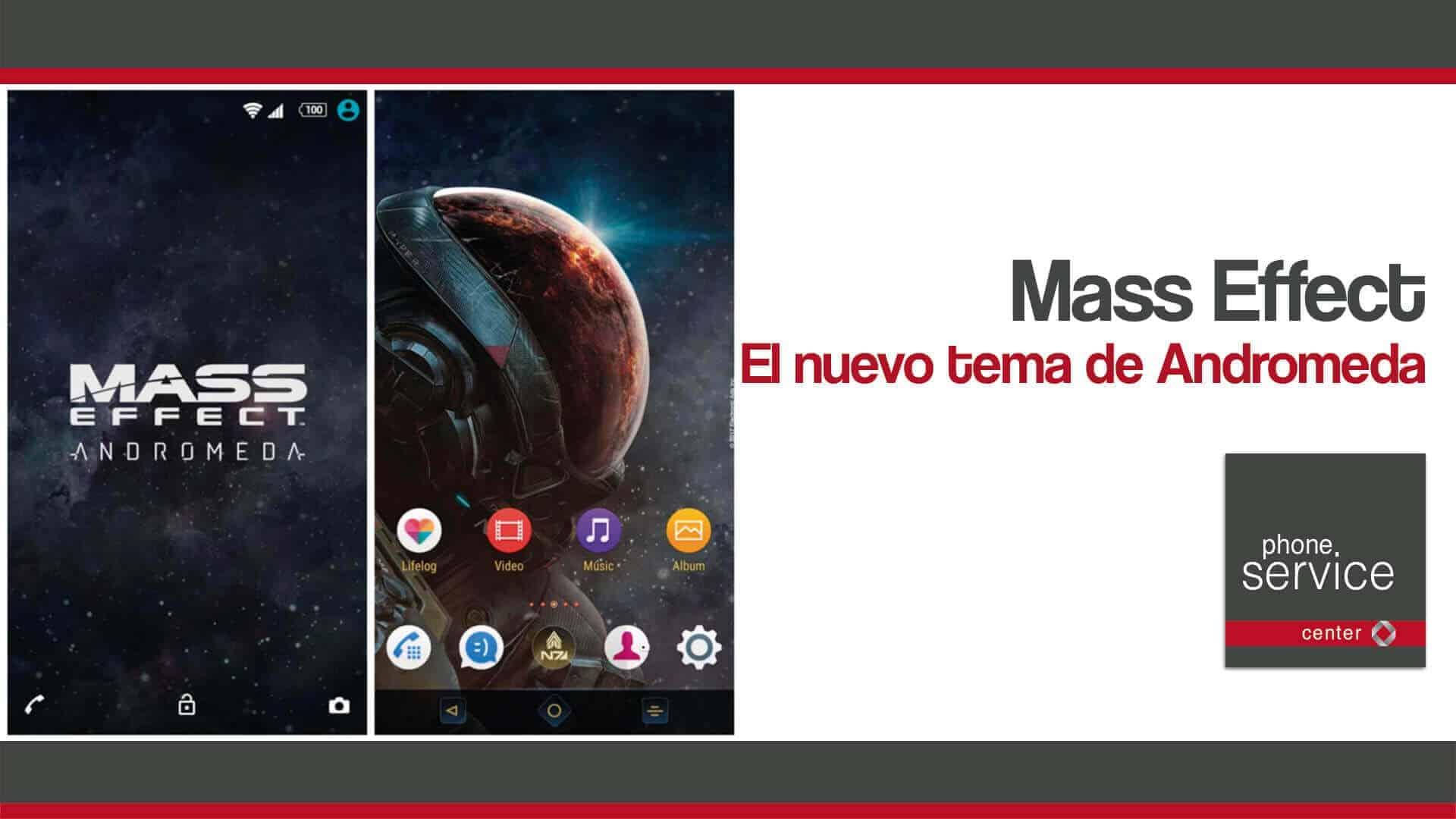 Mass Effect el nuevo tema de Andromeda