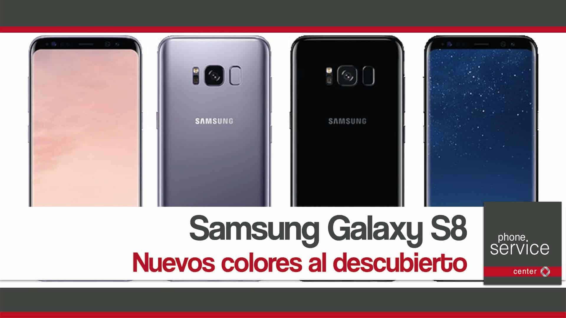 Samsung Galaxy S8 nuevos colores al descubierto