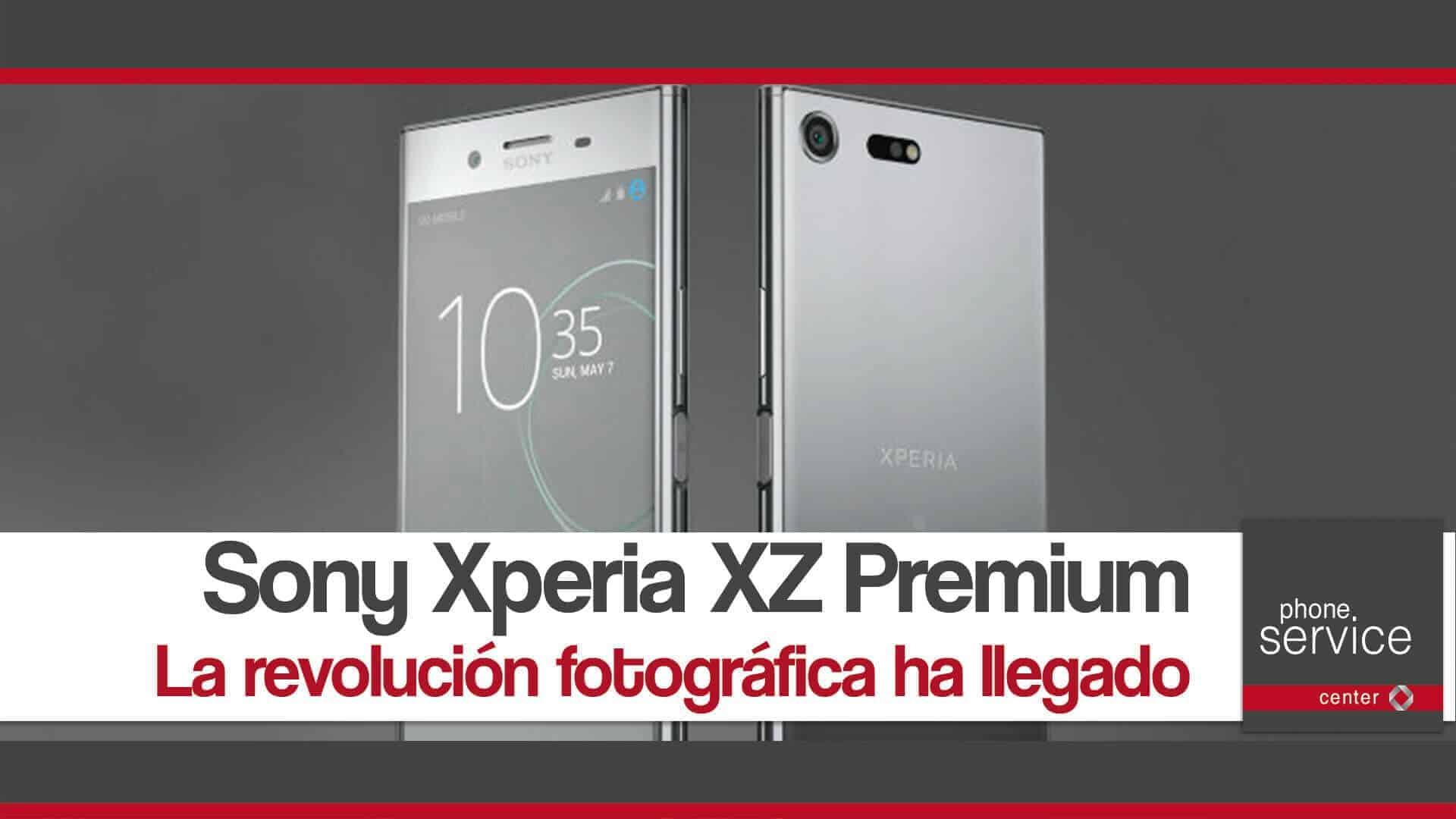 Sony Xperia XZ Premium revoluciona la fotografia