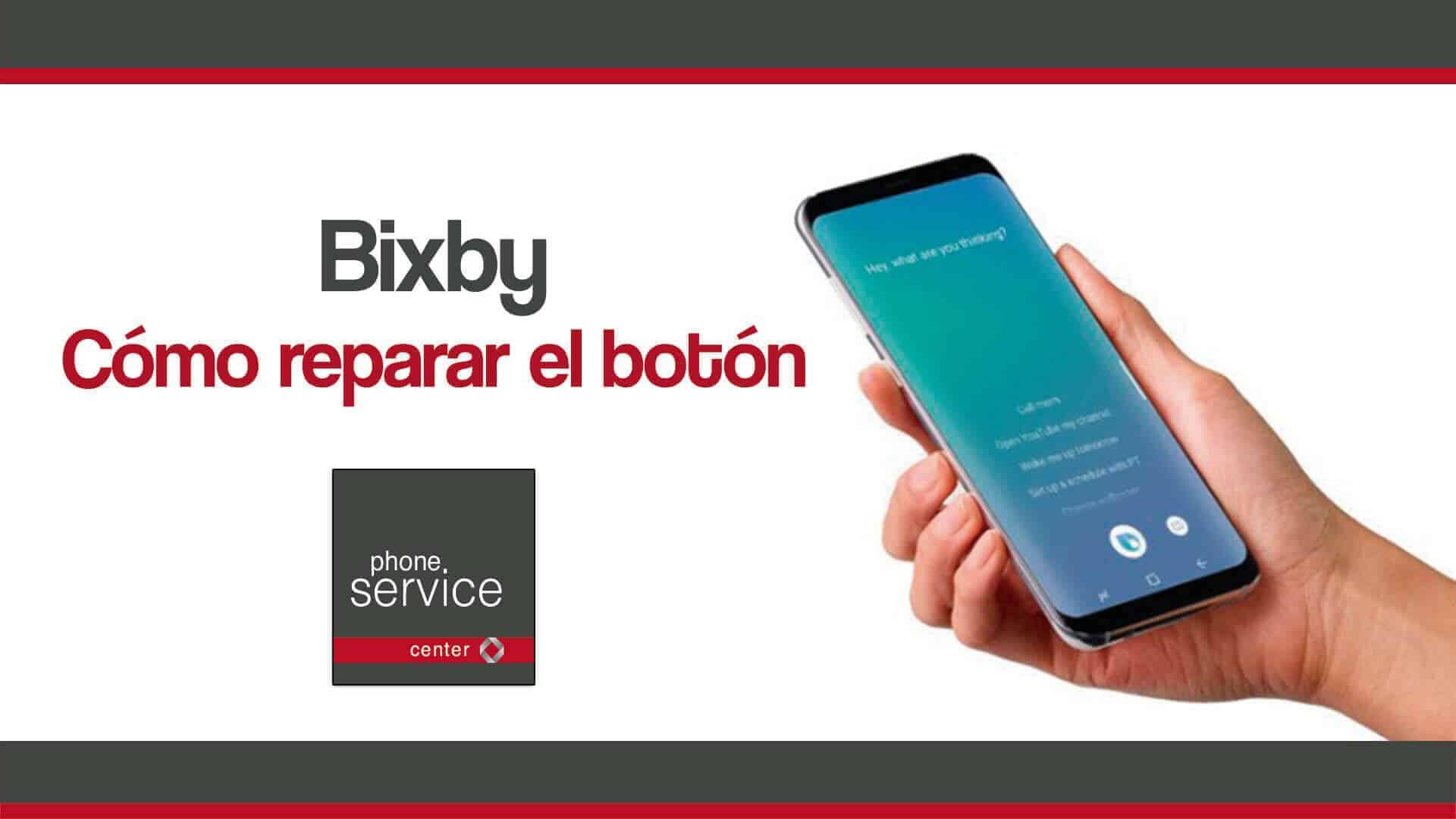 reparar el botón de Bixby