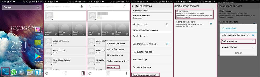 Bloquear numero en Android