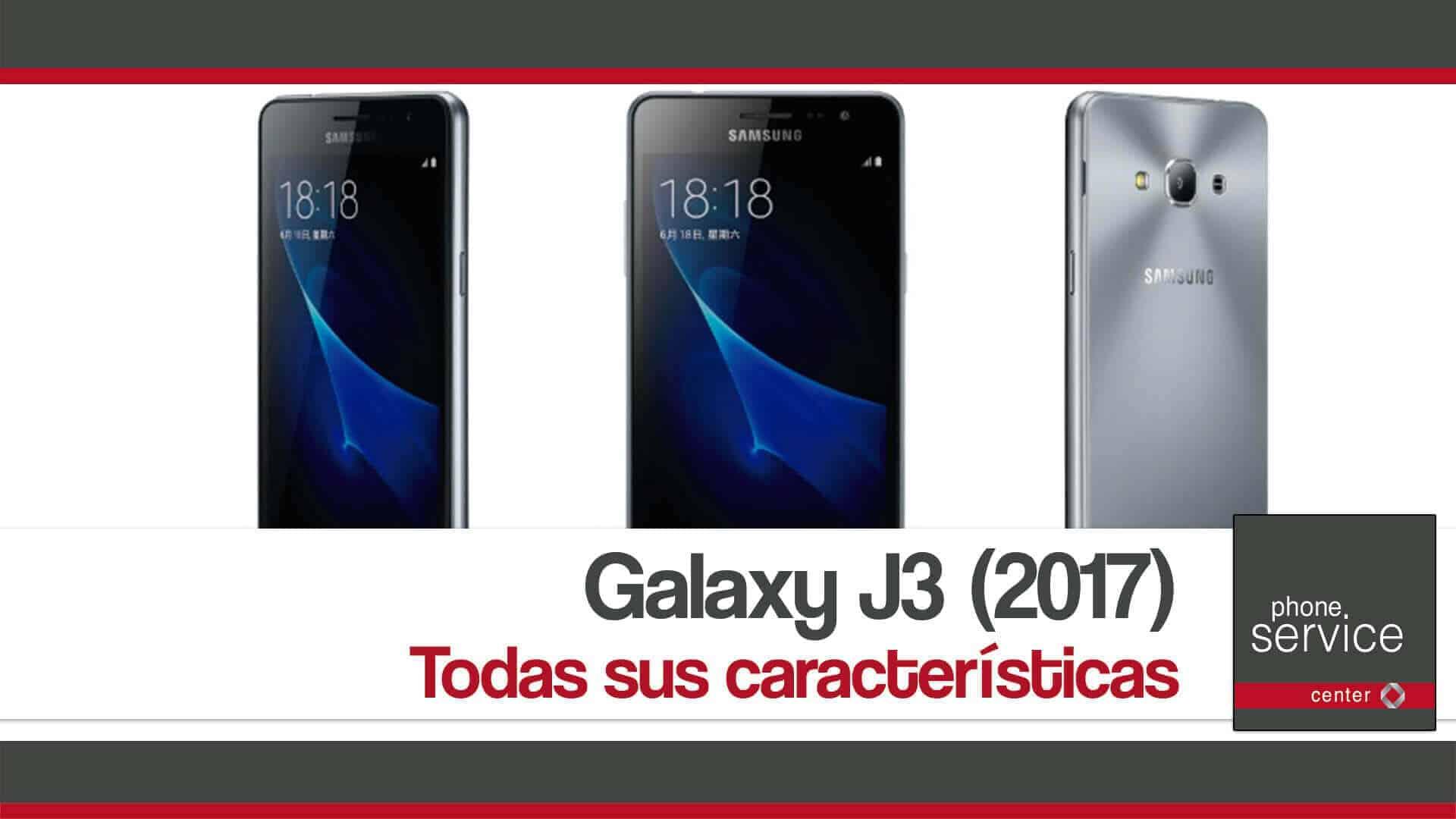 Galaxy J3 Especificaciones tecnicas