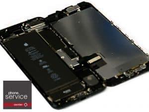 3 iphone 7 plus abierto como un libro
