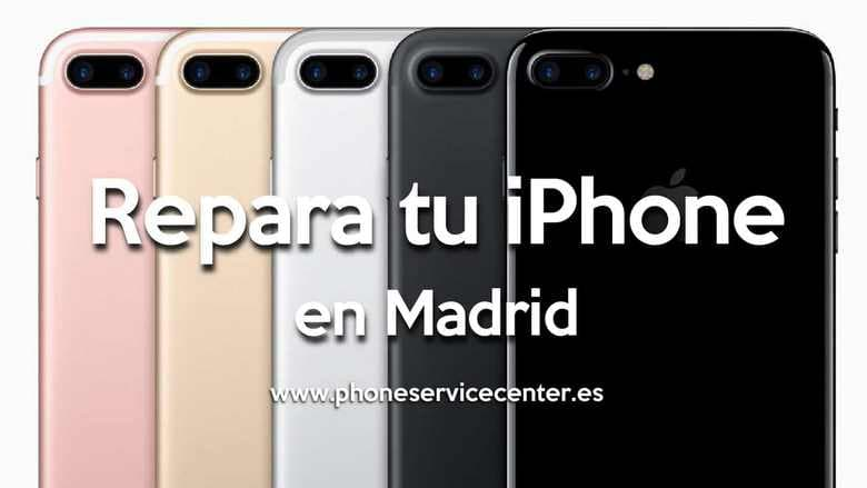 reparar tu iphone en Madrid