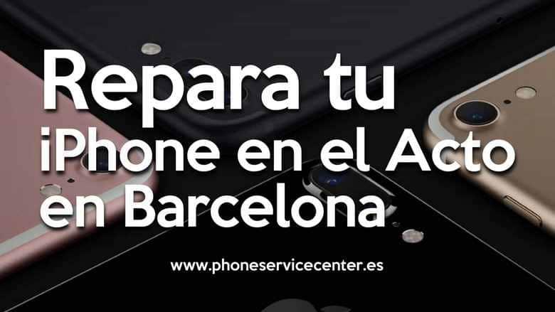 reparar tu iphone en Barcelona