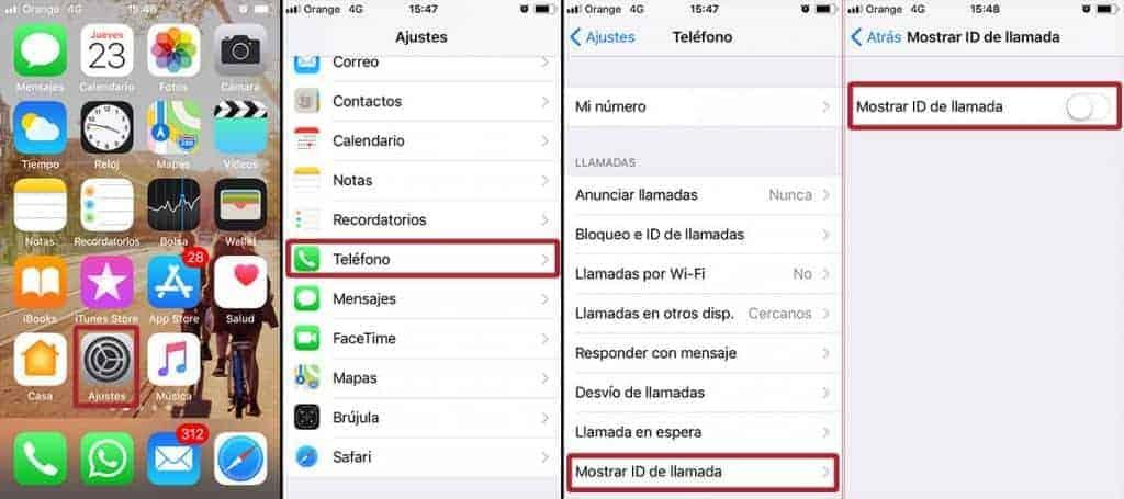 Pasos para llamar a llamar a alguien que te ha bloqueado en iOS 11