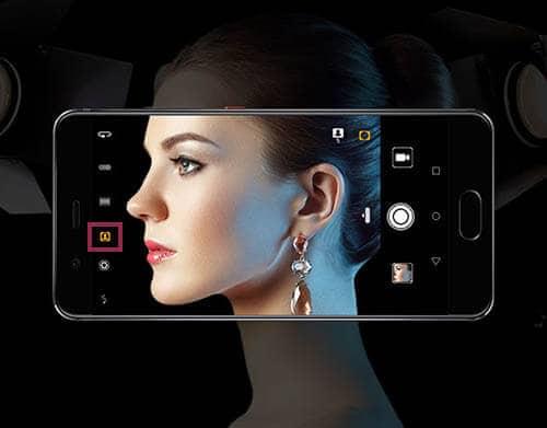 modo retrato Huawei P10