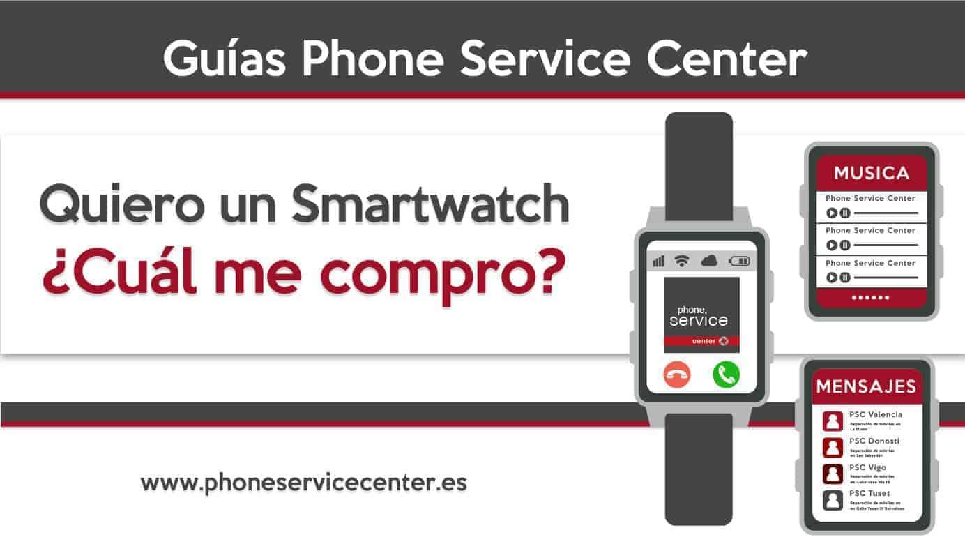 Guia para comprar un smartwatch