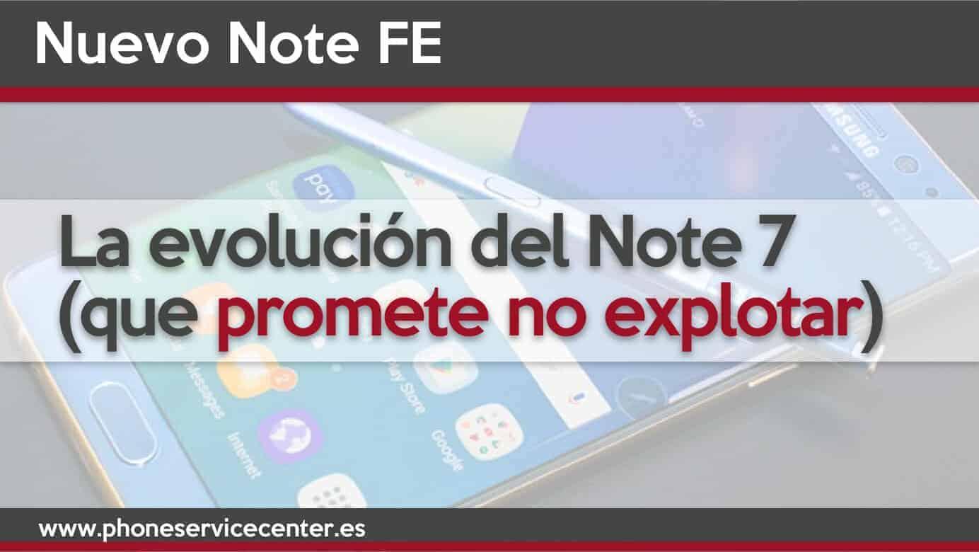 Nuevo Samsung Note FE