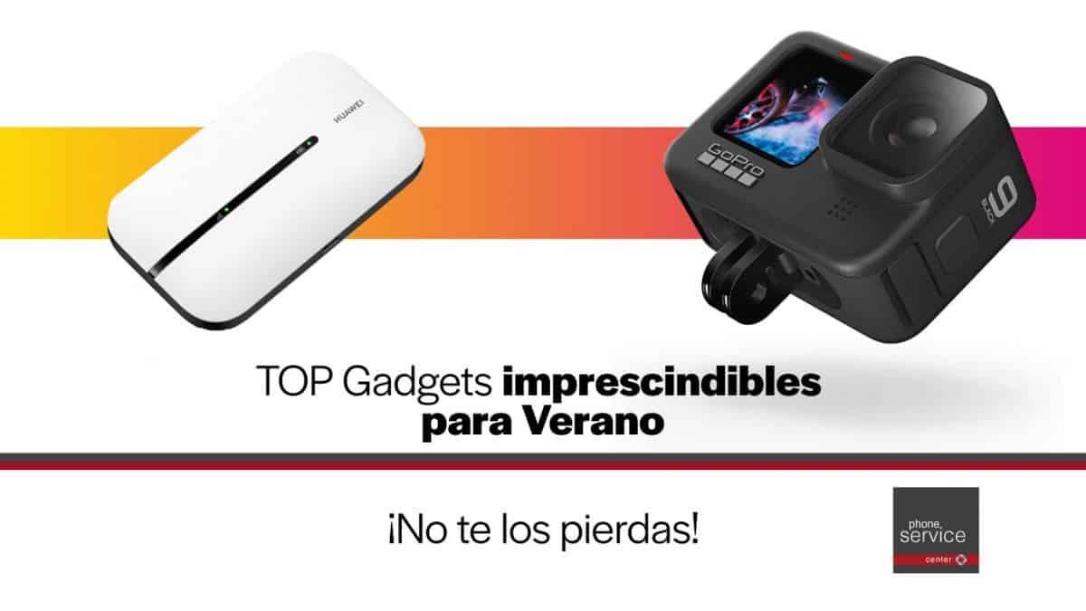 top gadgets para verano