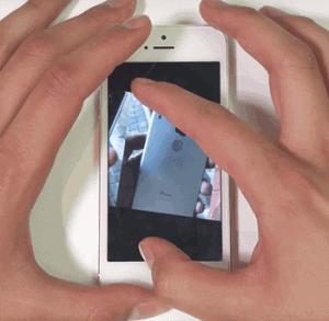 hacer zoom a videos desde safari iOS 11