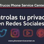 control sobre tus redes sociales