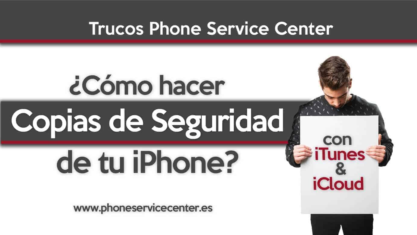 copia de seguridad de iPhone