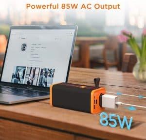 novoo bateria externa para portatil 85W AC Output