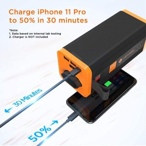novoo bateria externa carga rapida