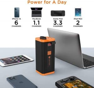 novoo bateria externa portatil