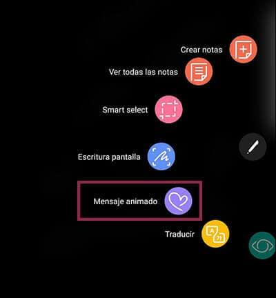 GIF animado con el Note 8