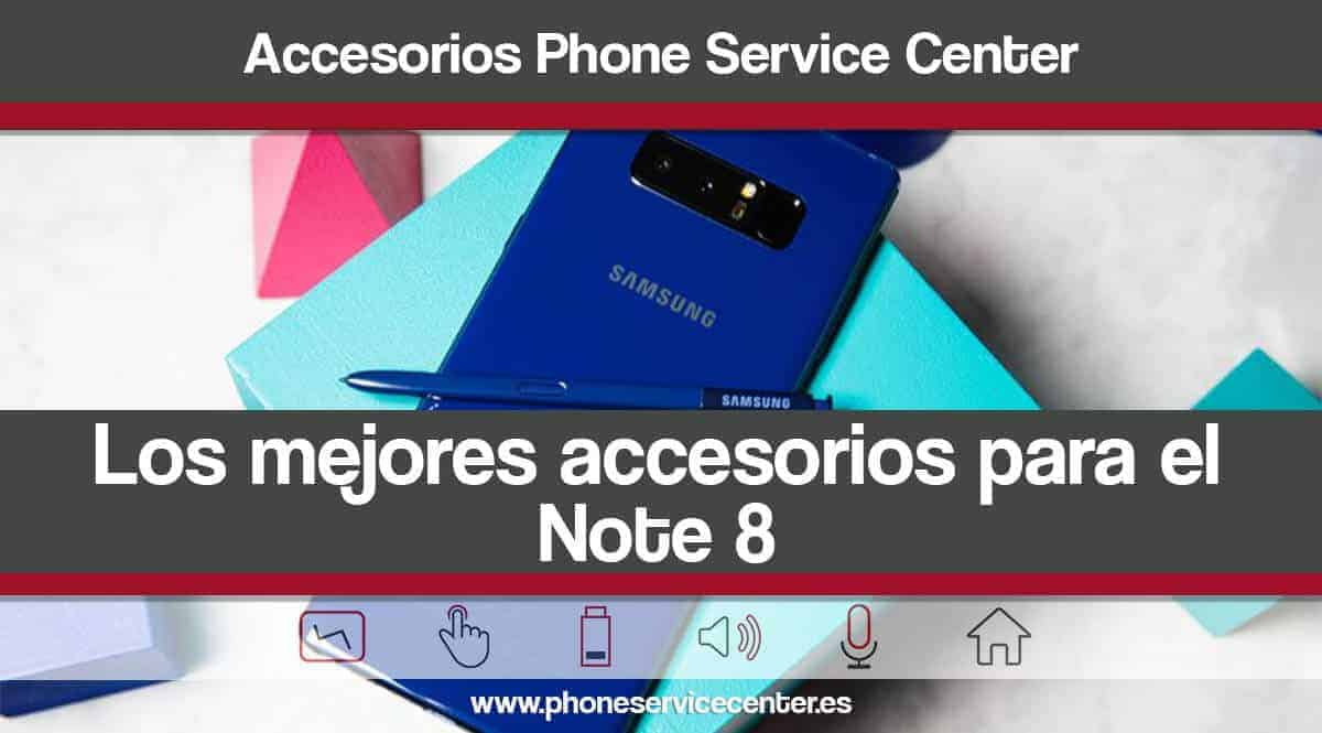 los mejores accesorios para el Samsung Galaxy Note 8