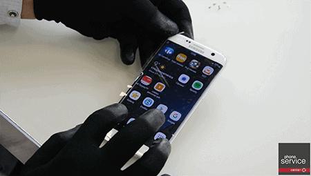 Pantalla del Galaxy S7 Edge funciona correctamente