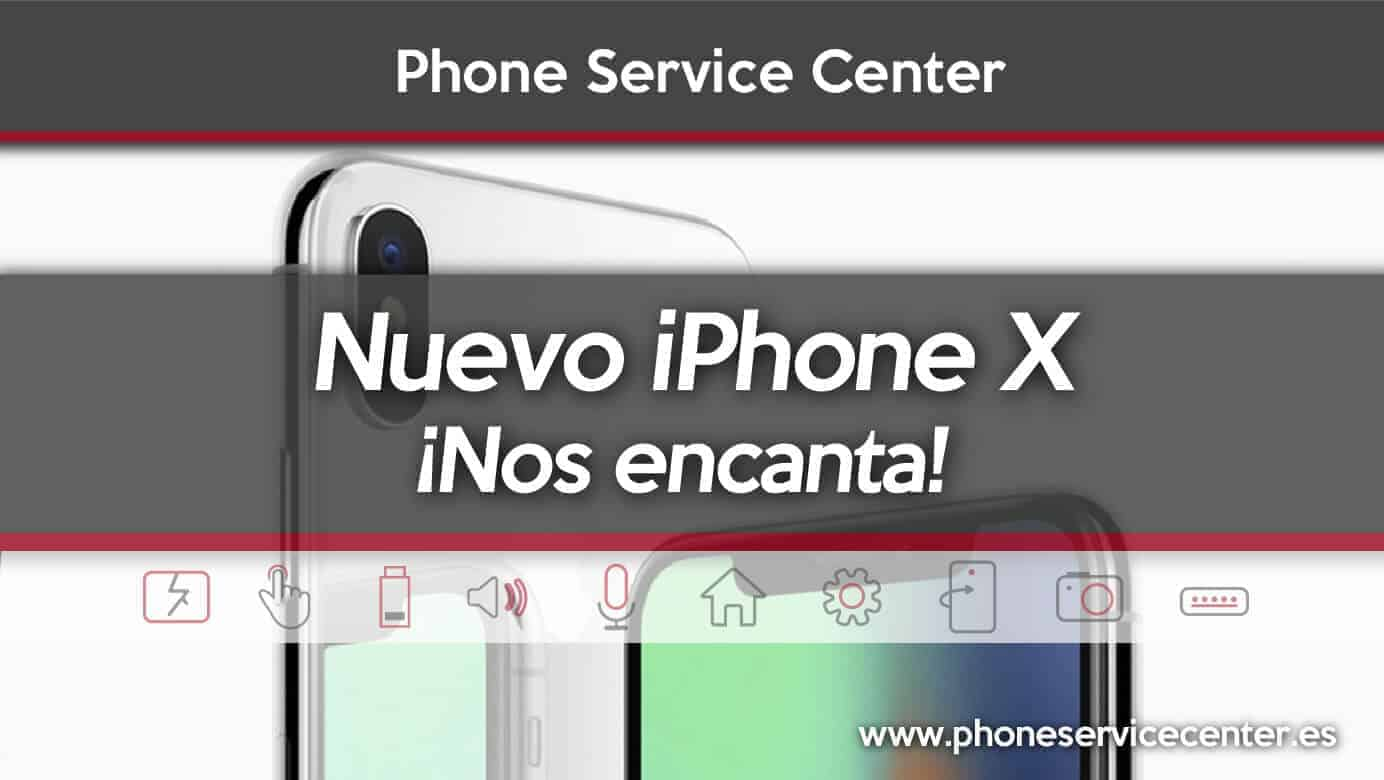 Apple lanza el iPhone X