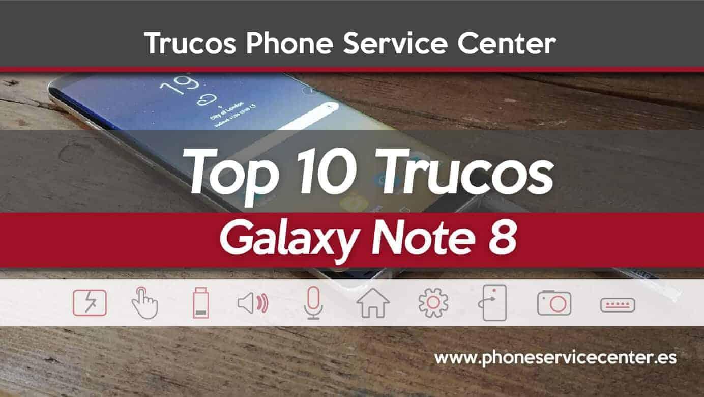 trucos para Galaxy Note 8
