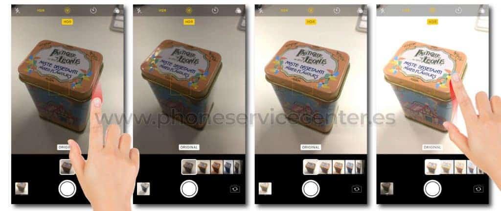 Controla la exposicion de las fotos de tu iPhone