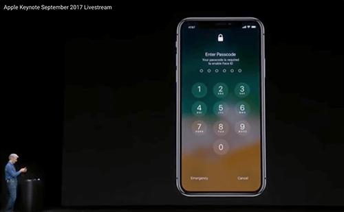 fallo reconocimiento facial de Apple
