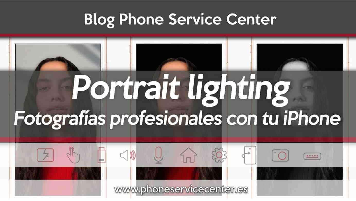 portrait lighting fotografia profesional iphone