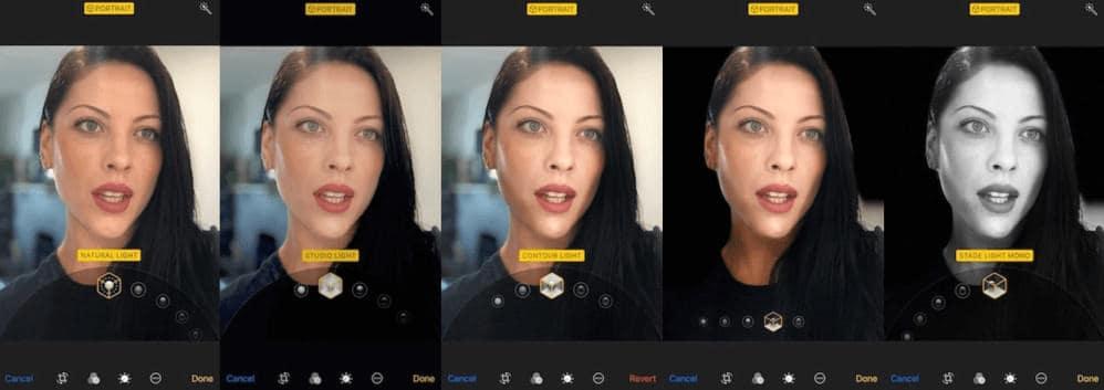 portrait lighting ios 11 Apple