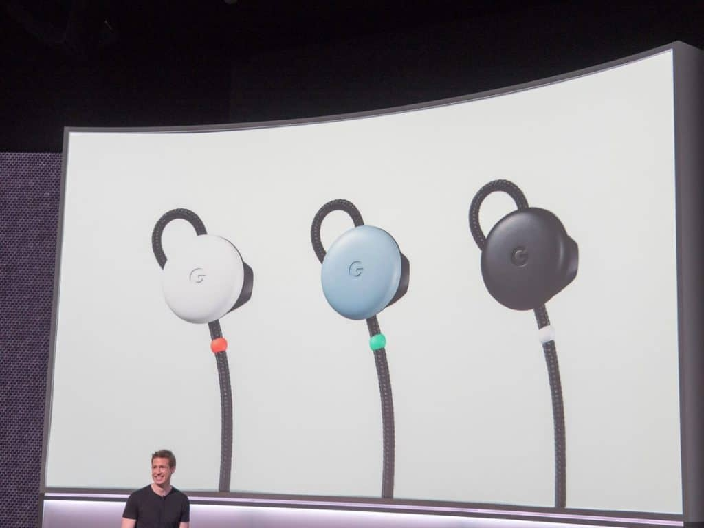 Google Pixel Buds colores