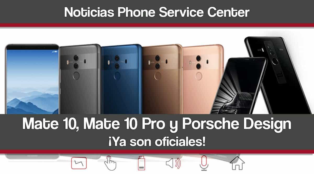 Mate 10, Mate 10 Pro y Porsche Design
