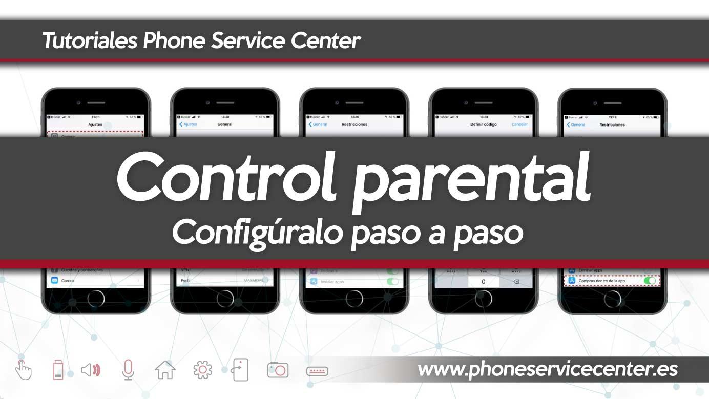 Configura el control parental en el movil